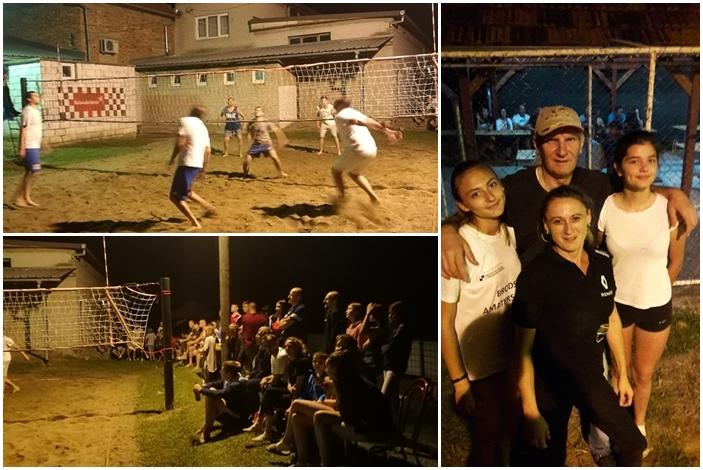 Noćni sati u Trnjanima protekli uz tradicionalni  turnir u odbojci na pijesku