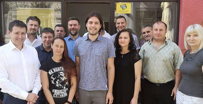 U centru Slavonskog Broda Živi zid otvorio je regionalni ured, žele biti dostupniji za prijedloge građana i ideje za revitalizaciju Slavonije i cijele Hrvatske
