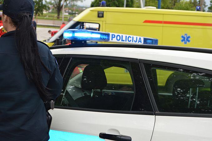 U Gornjoj Vrbi u prometnoj nesreći ozlijeđen dječak