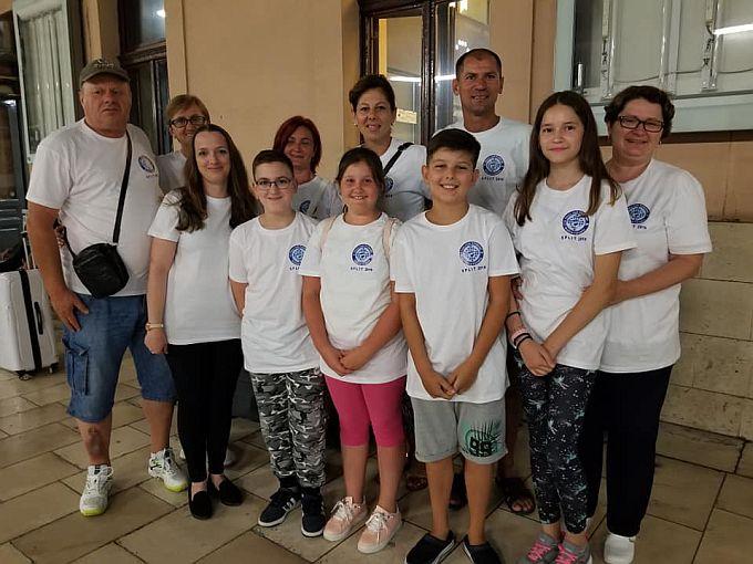 Naša ekipa mladih šahista uspješna na Sportskim igrama u Splitu