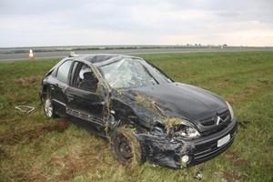 U prometnoj nesreći u Starom Slatiniku teško je ozlijeđena 28-godišnja vozačica