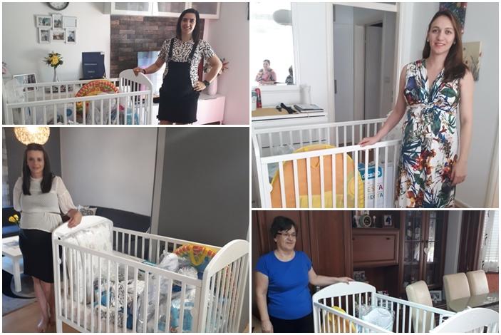Oprema za bebe u vrijednosti pet tisuća kuna stigla je u domove  još pet slavonskobrodskih obitelji