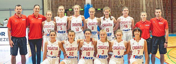Mlada Brođanka Nina Novak s U14 reprezentacijom ostvarila odličan rezultat, prvakinje su međunarodnog turnira