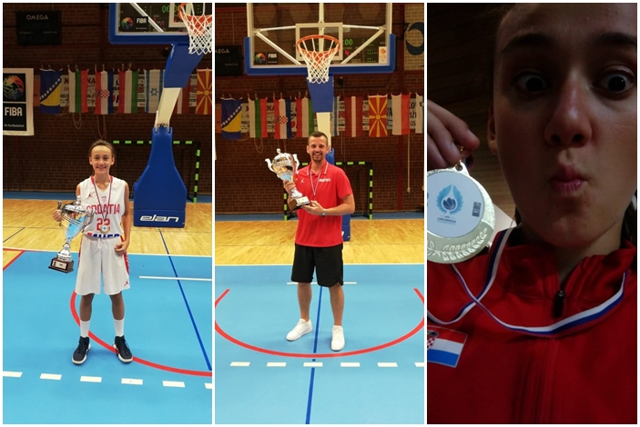 Kornelija Kvesić: Nina Novak ostvarila je prvi nastup na službenom natjecanju Hrvatske reprezentacije, počela je živjeti svoj košarkaški san, a mi smo kao klub ponosni smo što smo dijelom tog sna