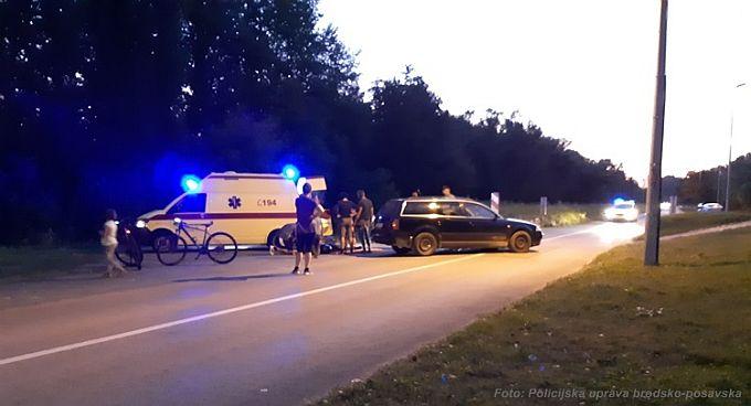 U Splavarskoj ulici prometna, ozlijeđen je motorist