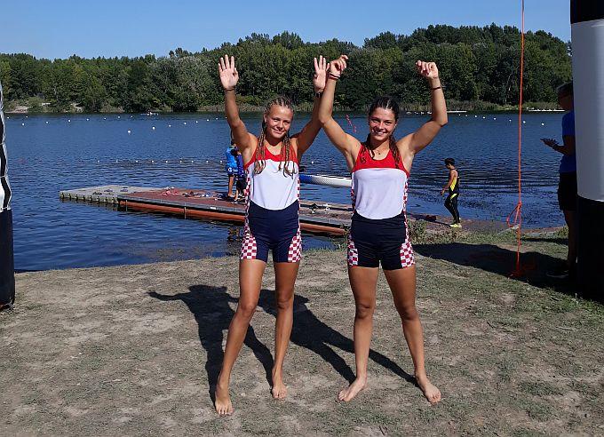 Sjajne Brođanke, Leona i Antonela, među šest najboljih posada na turniru olimpijskih nada