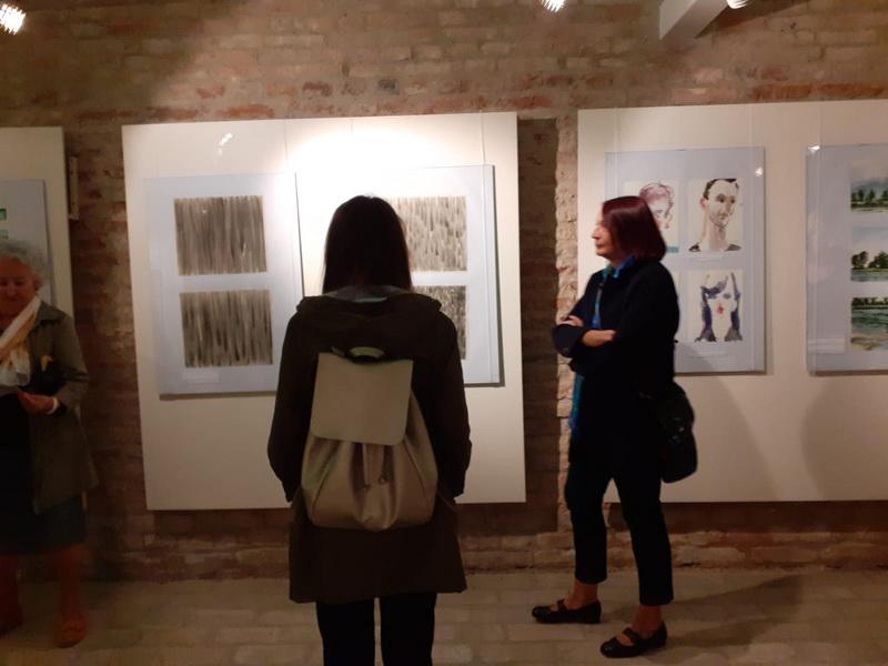 """Otvorena izložba 39. saziva Akvarelističke kolonije """"Sava"""""""