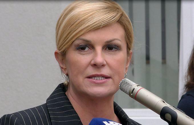 """Predsjednica objavila kandidaturu uz slogan """"Zato što vjerujem u Hrvatsku"""""""