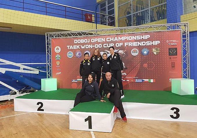 Brat i sestra Daniel i Viktoria, i Nikolina Devčić, u jako velikoj konkurenciji u borbama dolaze kući s medaljama