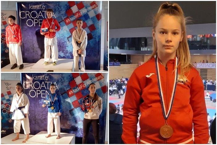 Dora Has prva u borbama U 12 - 44 kg i brončana u disciplini kate
