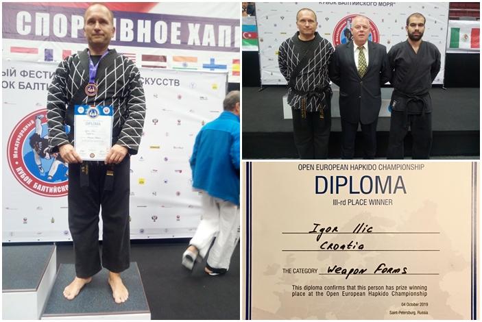 Igor Ilić u Rusiji pokazao da tehnika i znanje nemaju veze s godinama, u konkurenciji s puno mlađim natjecateljima osvojio broncu