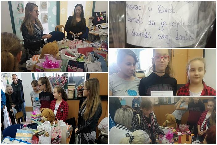 Učenici Osnovne škole iz Bebrine  sakupljali poklone za Vrapčiće