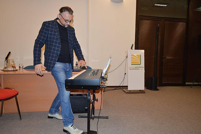 Glazba nije samo zabava, ona ima svoje veće kvalitete, utječe na naše fizičko i psihičko zdravlje, kazao je u Slavonskom Brodu Josip Joe Meixner