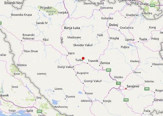 Potres kod Travnika osjetio se od Vinkovaca, preko Slavonskog Broda do Karlovca i južnije prema Dubrovniku