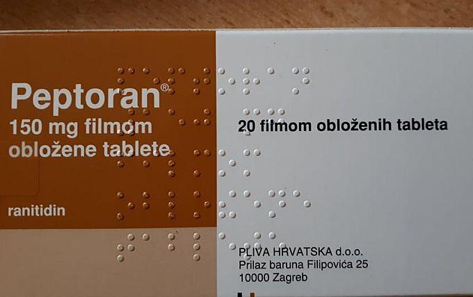 Iz ljekarni se povlače Peptoran i Gastrobel