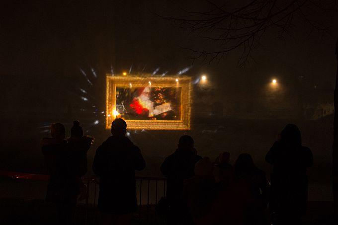 Hologramska priča Ivaninog svijeta bajki na Adventu iz davnina u Slavonskom Brodu