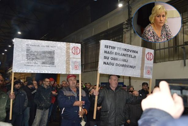 Plaće će Đurinim radnicima  danas i sutra biti na računima, Industrijska rješenja pričekat će sljedeći tjedan, kome je u interesu ovakvo stanje u Đuri, pitala Vučković