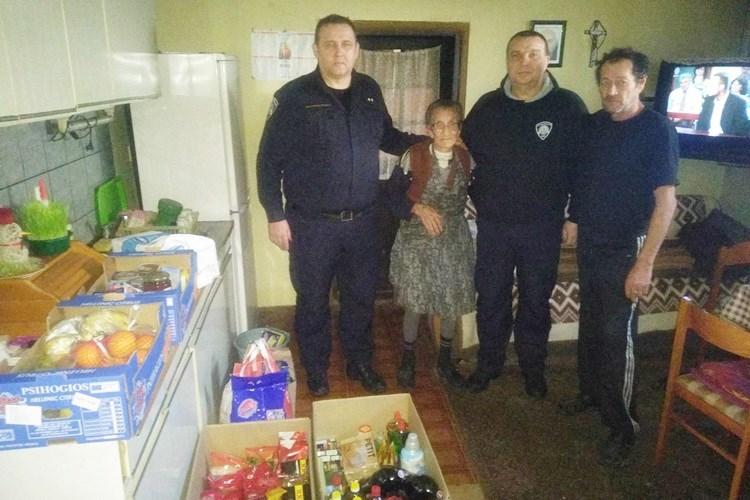 Zagrliti baku Angelu nama znači zagrliti našeg Tomislava, kazali su pripadnici Interventne policije