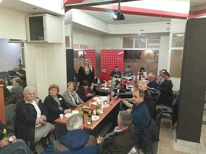"""U stožeru SDP-a zadovoljni rezultatom, Opačak- Bilić: """"Zoran Milanović bit će predsjednik moderne, napredne i civilizirane Hrvatske"""""""