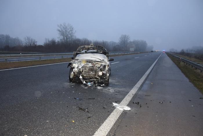 Policija završila očevid na mjestu prometne nesreće koja se dogodila rano jutros kod Velike Kopanice