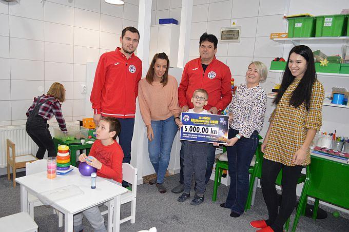 Manji stres je veća radost za cijelu obitelj, MNK Brod 035 donirao sredstva za provedbu projekta Subotnji tren(k)utak
