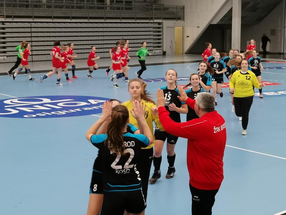 Tri pobjede u tri odigrane utakmice za kadetkinje ŽRK Brod