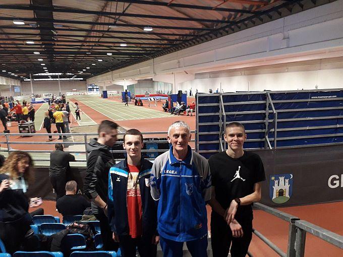 Zrinoslav peti, a Luka sedmi na juniorskom prvenstvu Hrvatske u dvorani