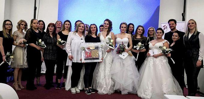 Bernarda Olujević – učenica Srednje obrtničke škole pobjednica je natjecanja u Makeup-u