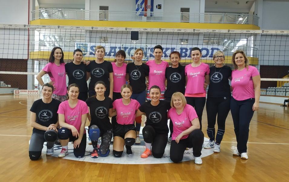 U Slavonskom Brodu odigran 4. rekreativni turnir u odbojci za žene