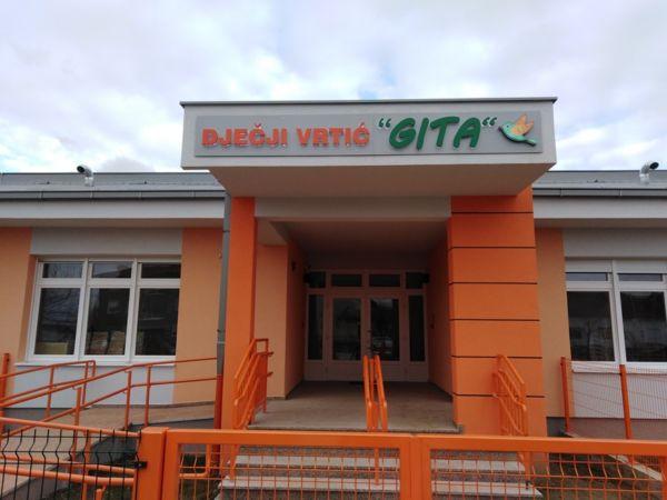 """U ponedjeljak, 9. ožujka otvorenje novog Dječjeg vrtića """"Gita"""
