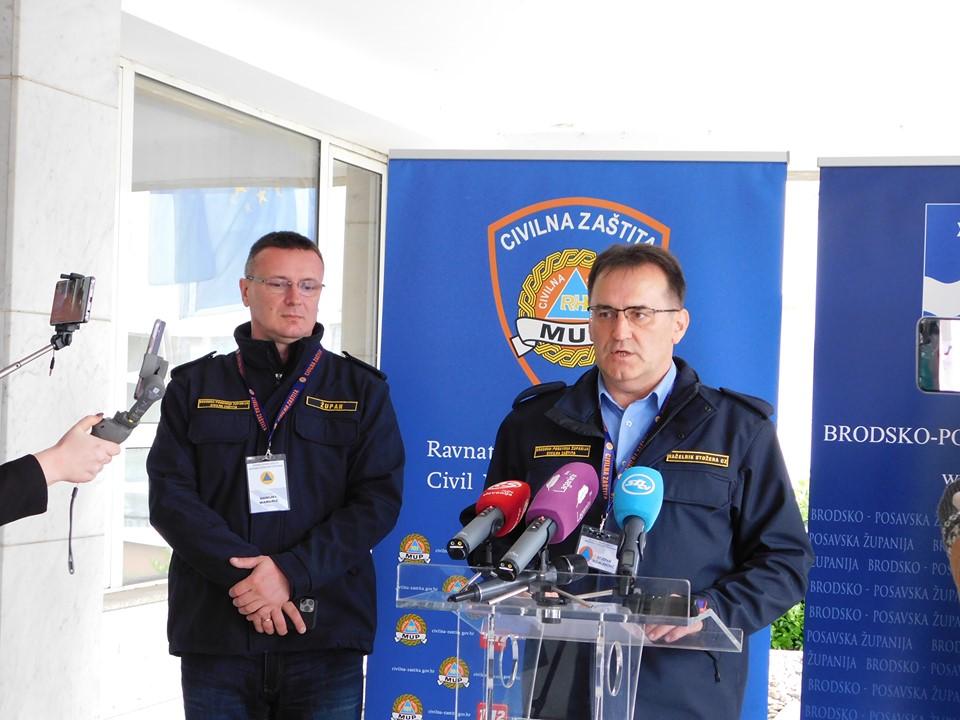 Tijekom posljednja 24 sata na području Brodsko-posavske županije potvrđen je jedan novi slučaj zaraze koronavirusom