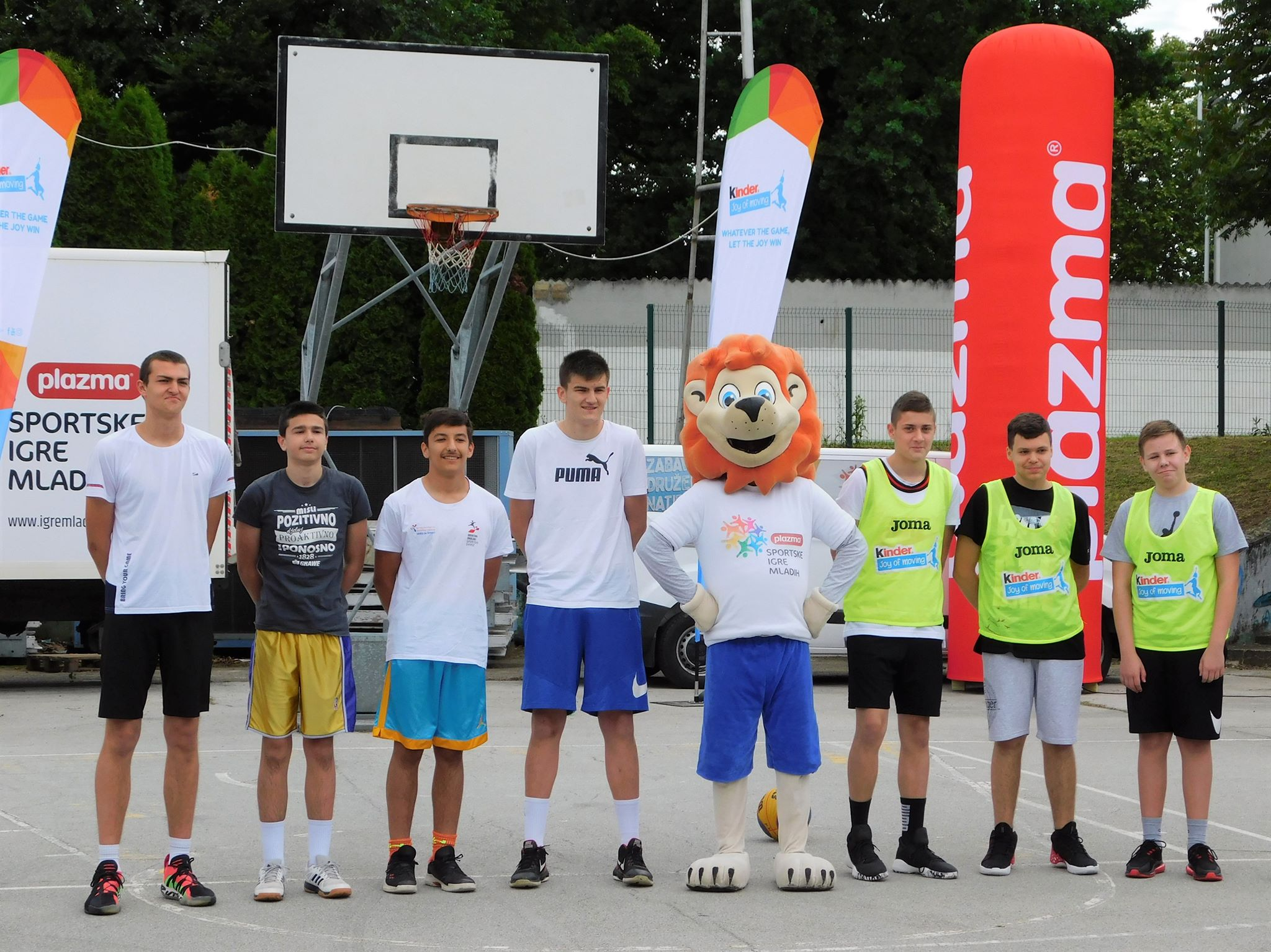 Danas na Klasijama stotinjak sportaša i sportašica natjecalo se na Plazma sportskim igrama mladih