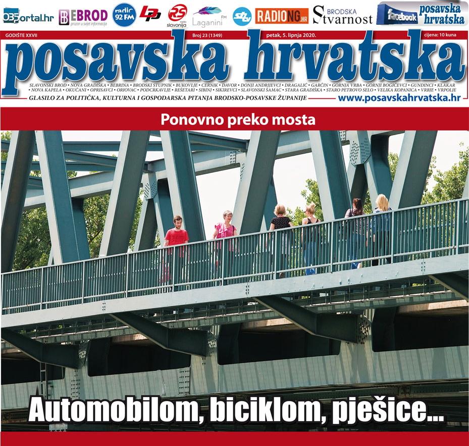 Posavska Hrvatska u novom broju donosi: Gdje se nalaze zatrpani slavonskobrodski mostovi?