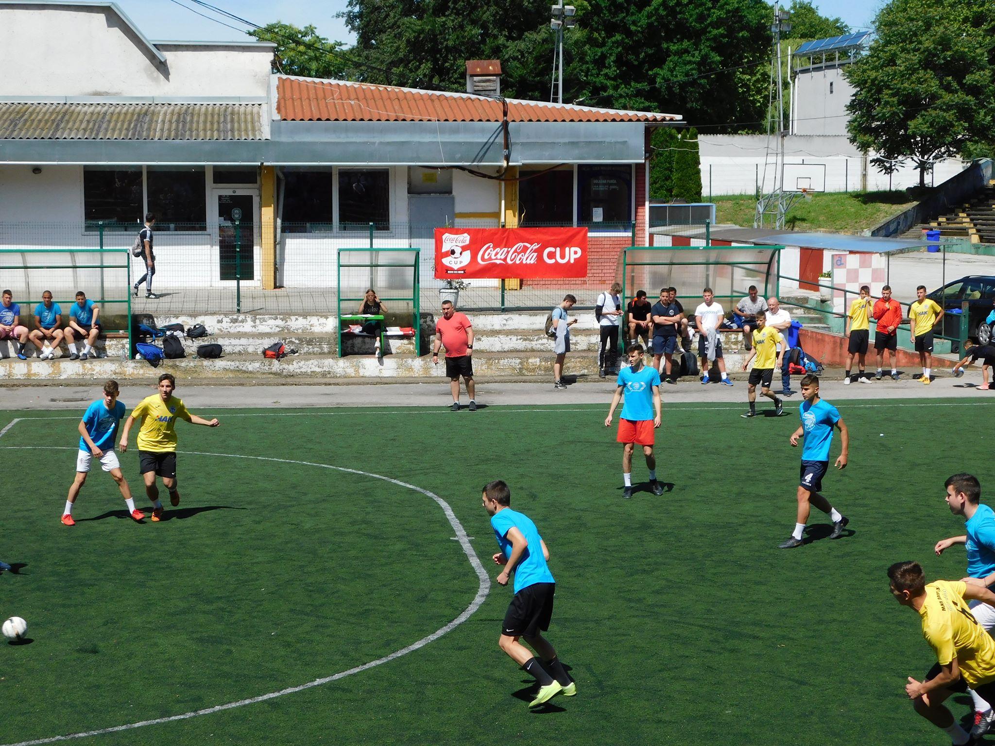 Danas na Klasijama, mladi nogometaši  igrali za odlazak na završnicu Sportskih igara u Splitu