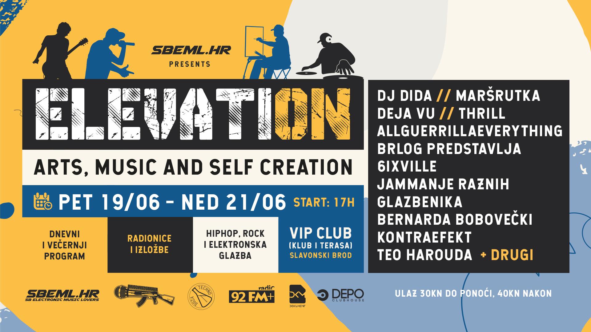 Gdje za vikend: Glazba, ples, likovne umjetnosti i kreativne radionice ovog vikenda u VIPclub-u Brod