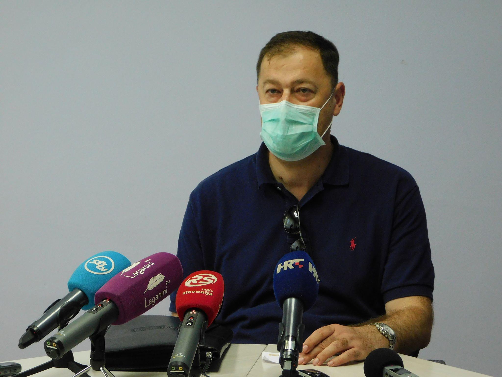 """U našoj županiji imamo 5 aktivnih slučajeva zaraze, dr. Cvitković upozorava: """"Bez suradnje s građanima situacija neće biti dobra"""""""