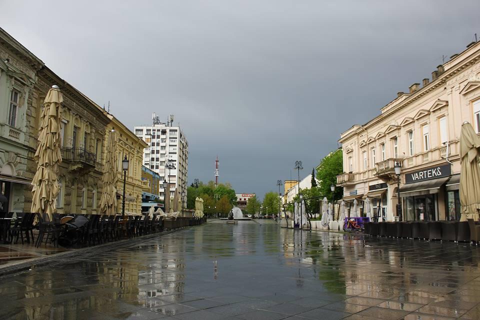 S kišom, grmljavinom i vjetrom stiglo osvježenje
