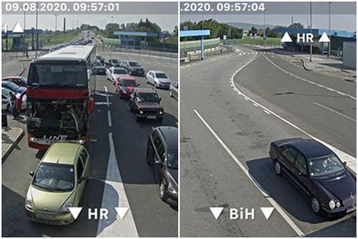 Info za sudionike prometa, pojačan je promet na važnijim cestama te pojedinim graničnim prijelazima