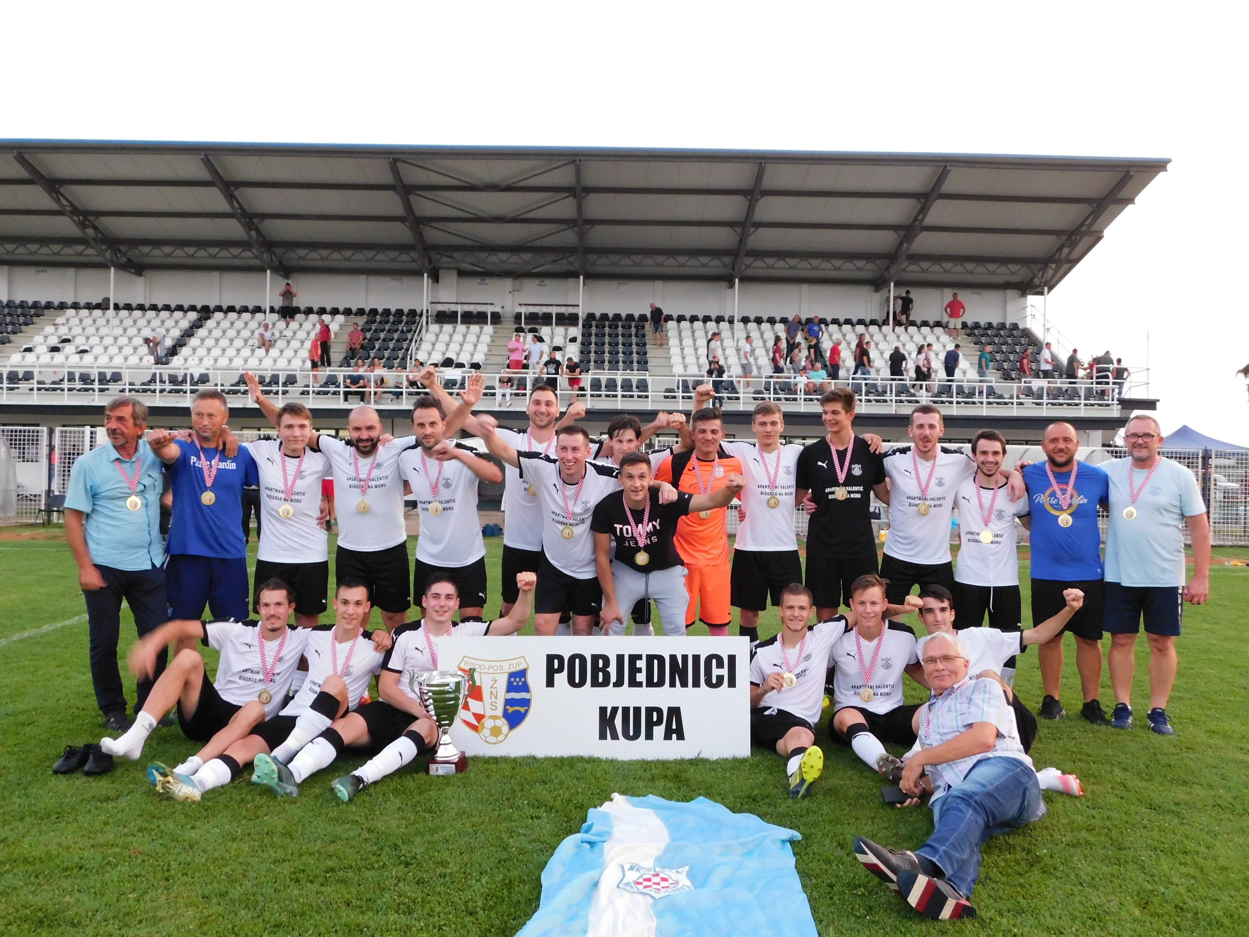 Novogradiška Sloga pobjednik Županijskog nogometnog kupa BPŽ