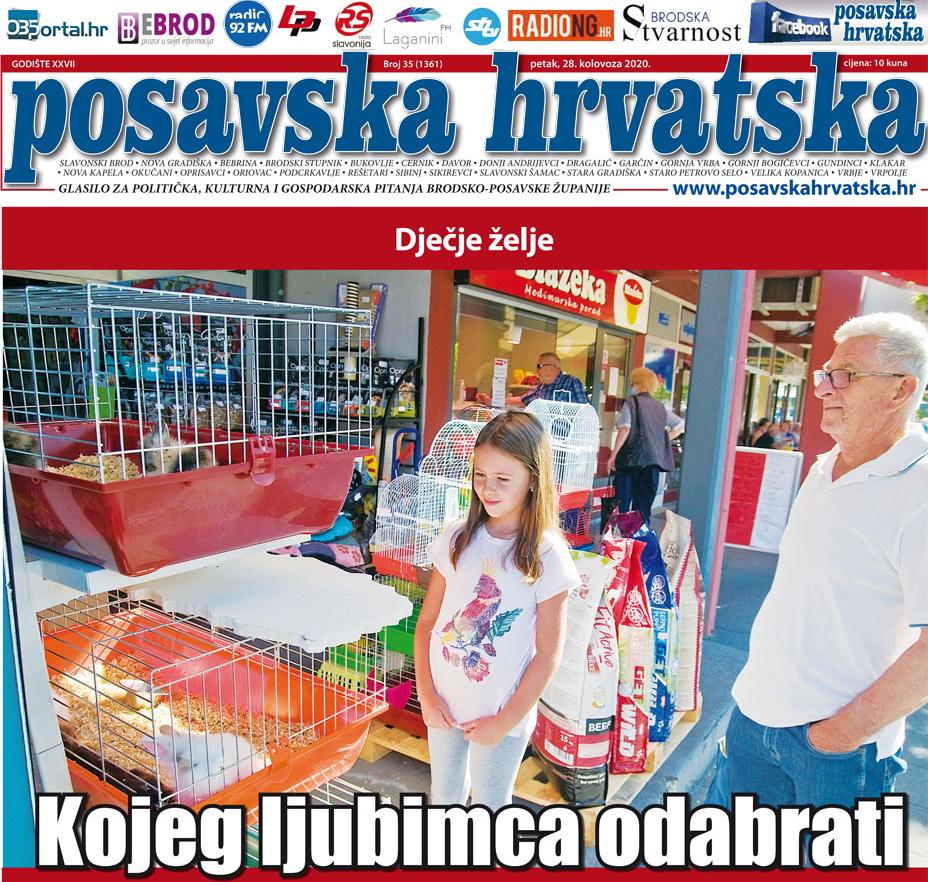 Posavska Hrvatska u novom broju donosi: Kakva se otmica dogodila u Tvrđavi?