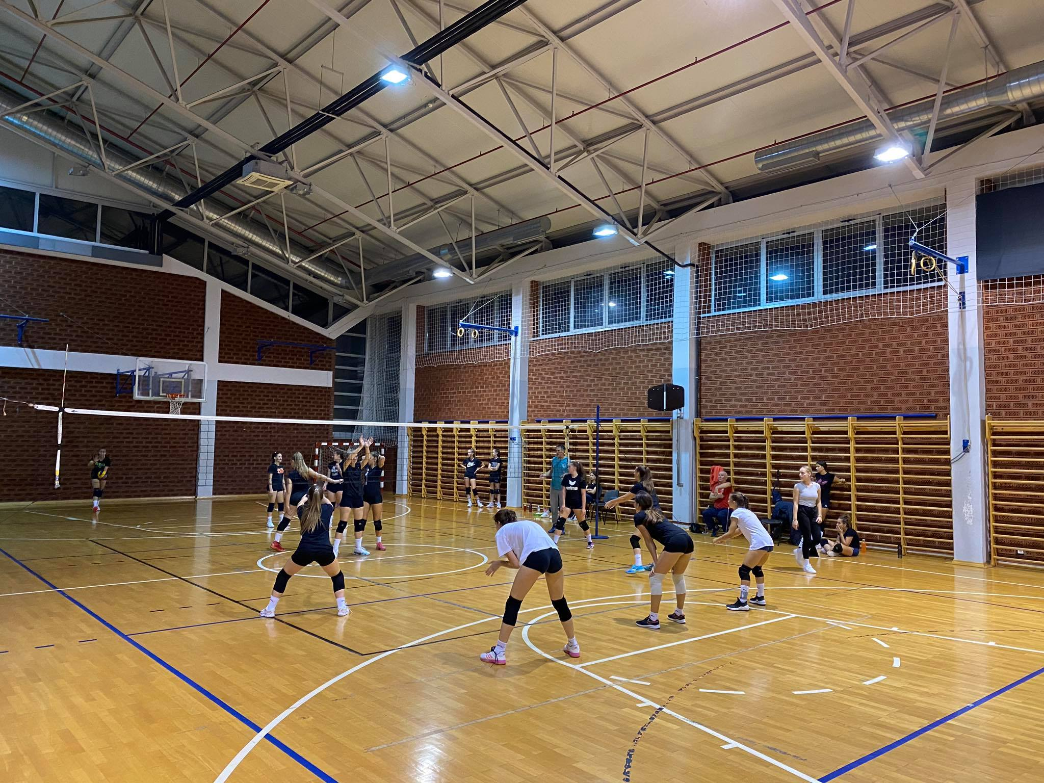 Odigrana prijateljska utakmica između mlađih kadetkinja Posavine Brod i Kolonije
