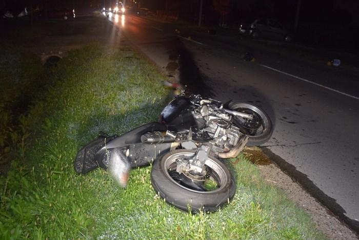 U prometnoj nesreći teško ozlijeđen alkoholizirani motociklist