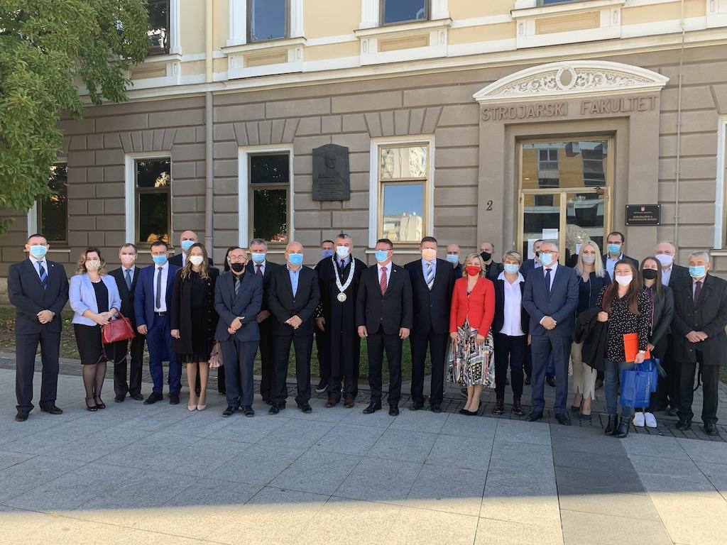 Danas je održana konstituirajuća sjednica Senata Sveučilišta u Slavonskom Brodu