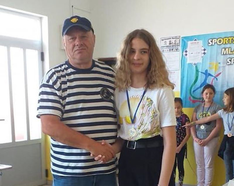 Petra Karij osvojila srebro na Međunarodnim Sportskim šahovskim igrama mladih u Sarajevu