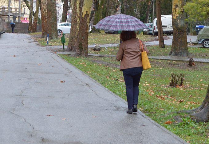Promjena vremena: Danas većinom oblačno, povremeno s kišom