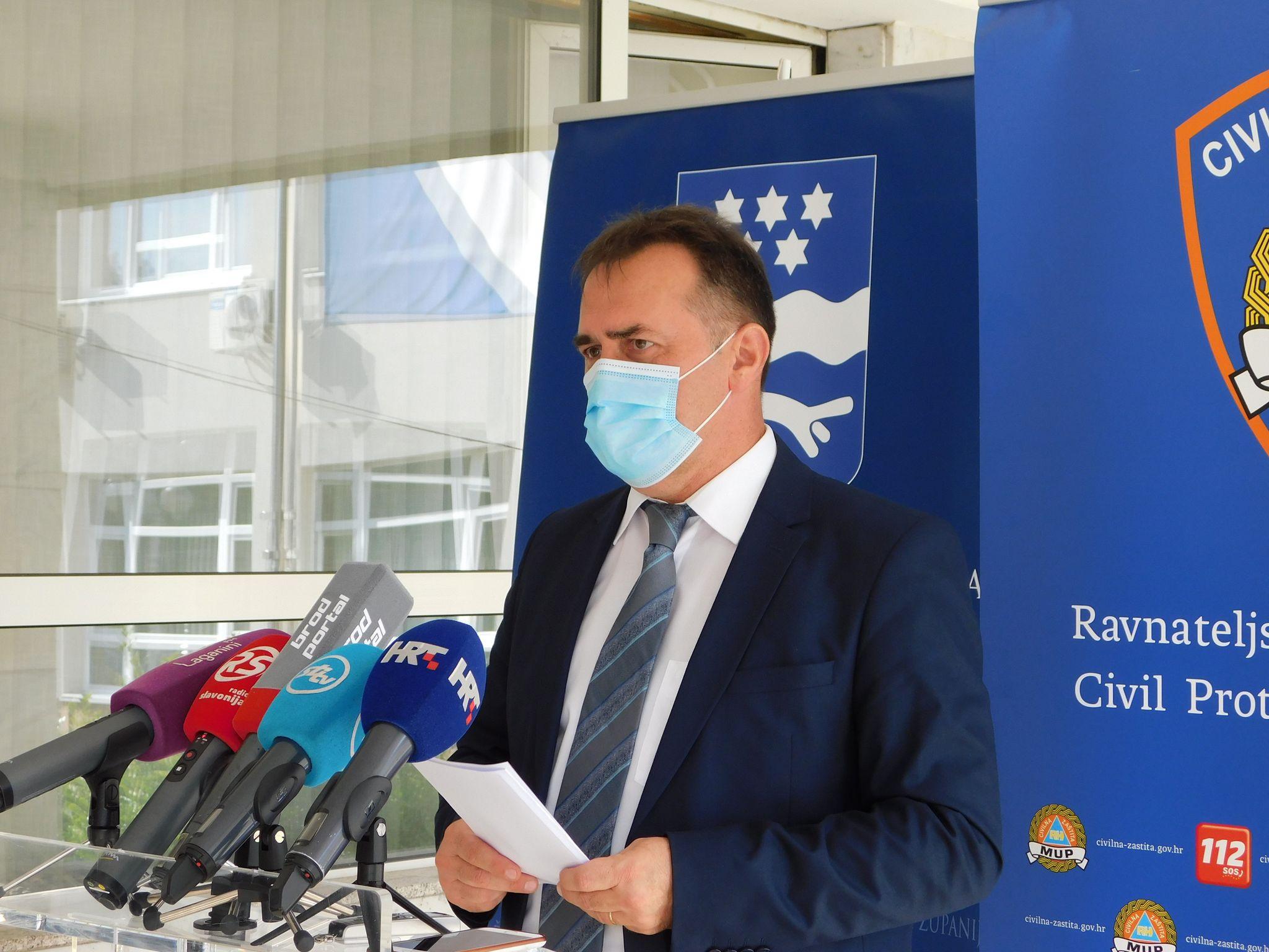 U Brodsko-posavskoj županiji danas 118 novih slučajeva zaraze, jedna osoba je preminula