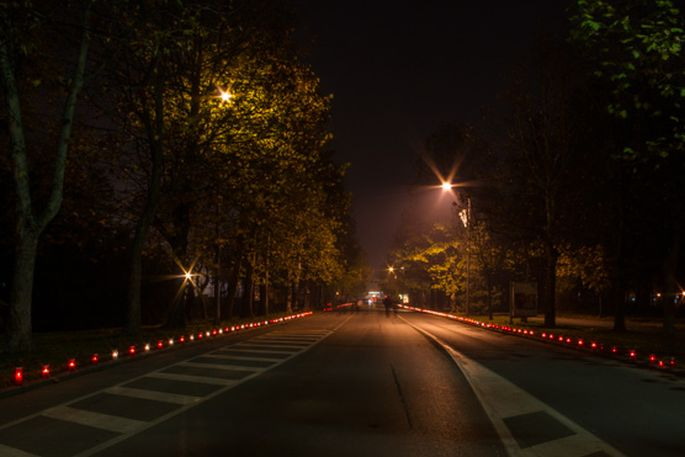 Vukovarska ulica svijetli za sve žrtve Domovinskog rata, Vukovara i Škabrnje