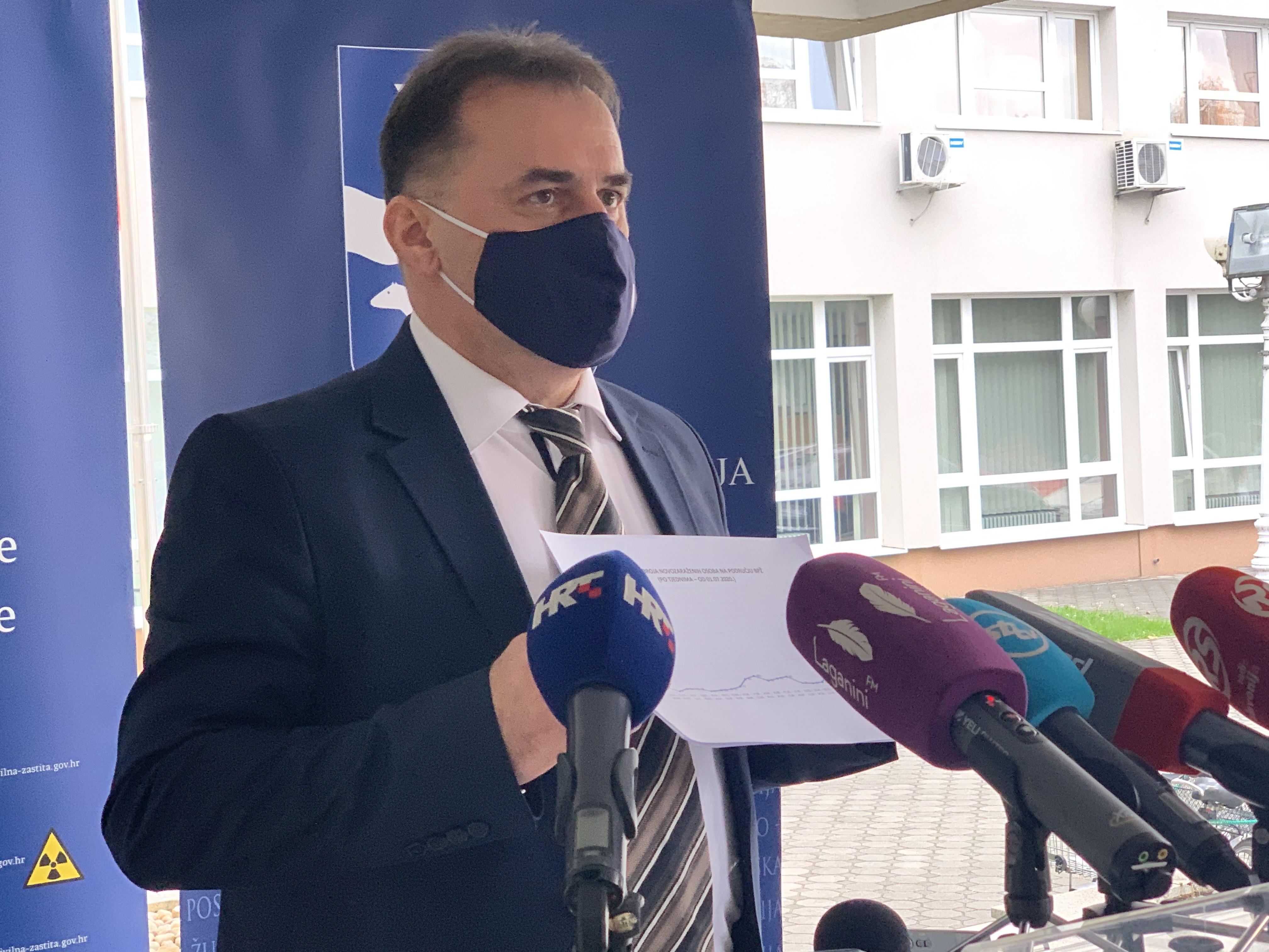 U Brodsko-posavskoj županiji danas 109 novih slučajeva zaraze, dvije osobe su preminule