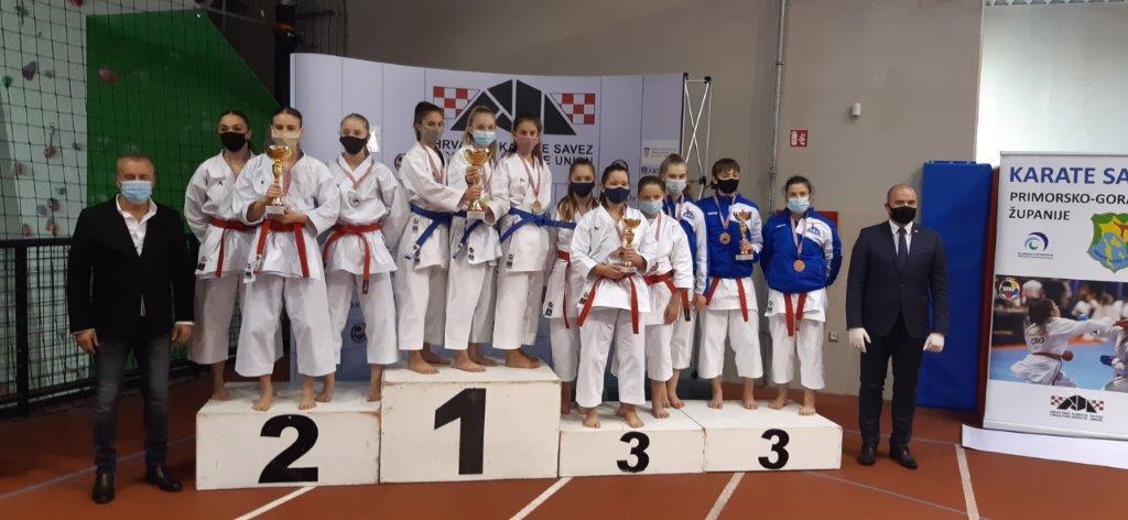 Ekipa KK Slavonski Brod kadetsko-juniorskog uzrasta osvojila je prvo mjesto na Prvenstvu Hrvatske