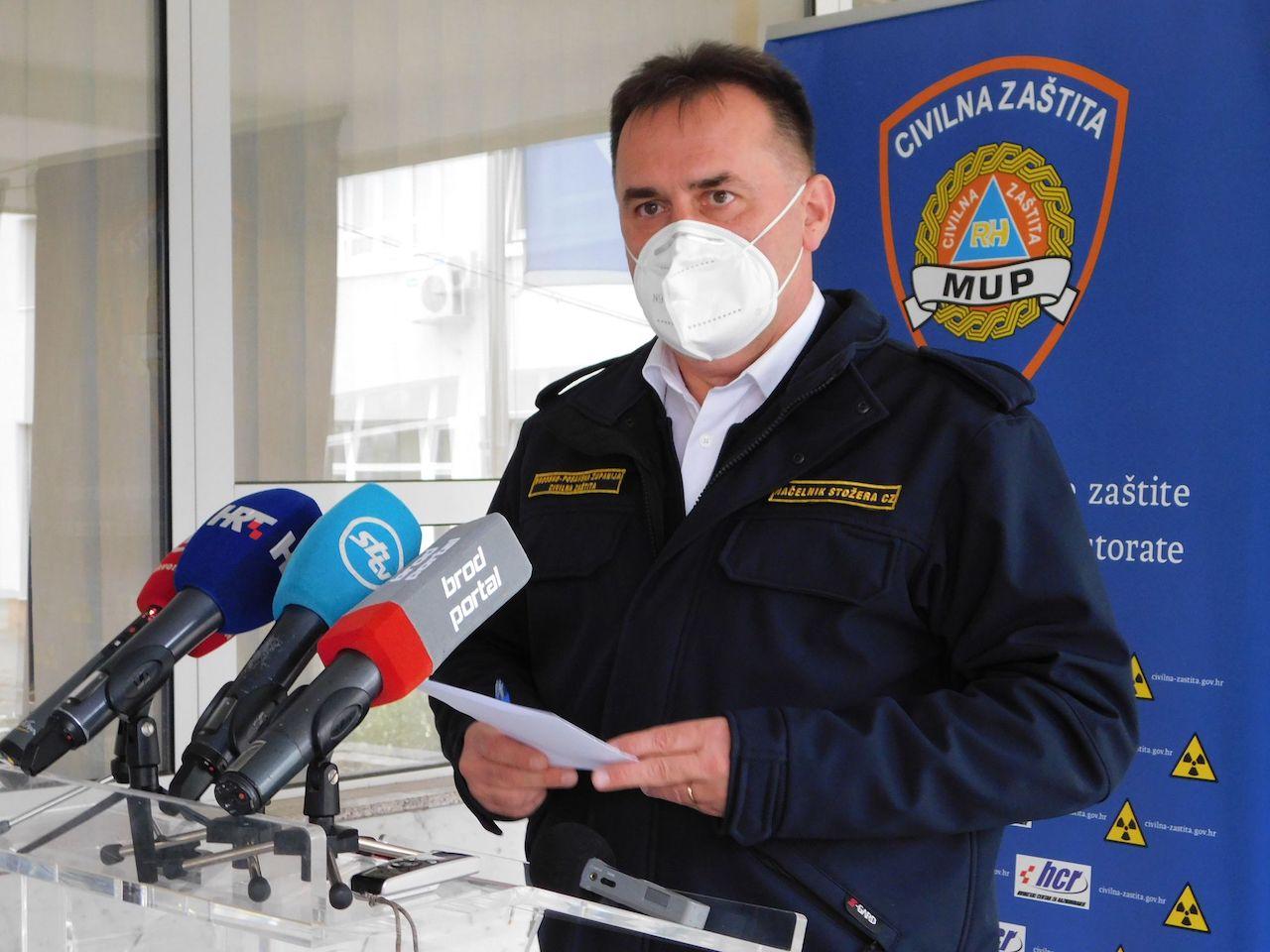 U Brodsko-posavskoj županiji danas 48 novih pozitivnih osoba, 4 osobe su preminule